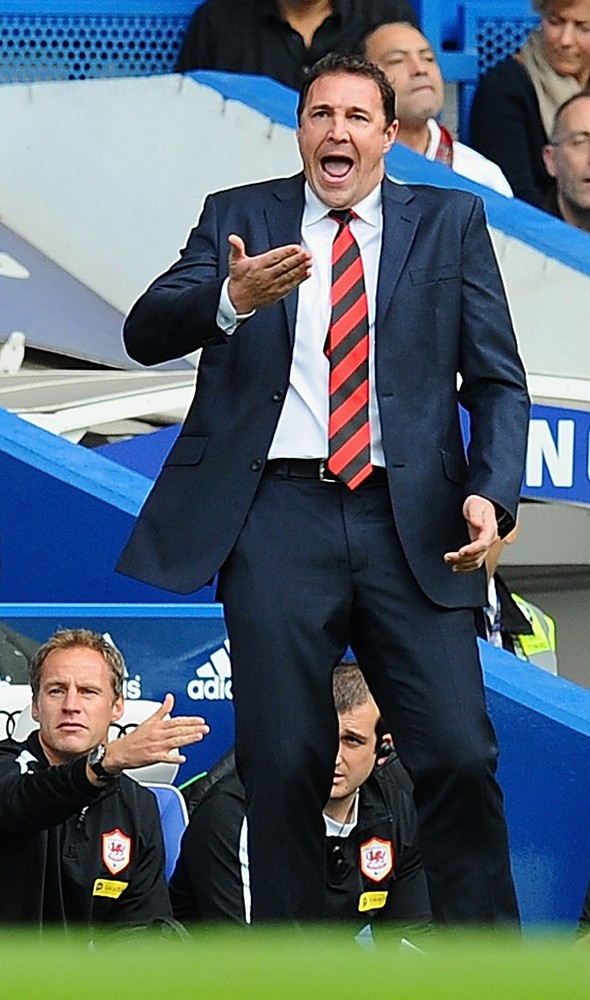 Malky Mackay fumes at 'horrendous' refereeing error after Chelsea defeat