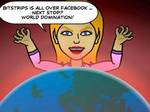 Bitstrips app grates on Facebook users as millions upload cartoon avatars