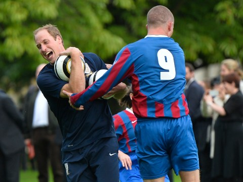 Gallery: Buckingham Palace hosts its first football match to celebrate 150 years of the Football Association