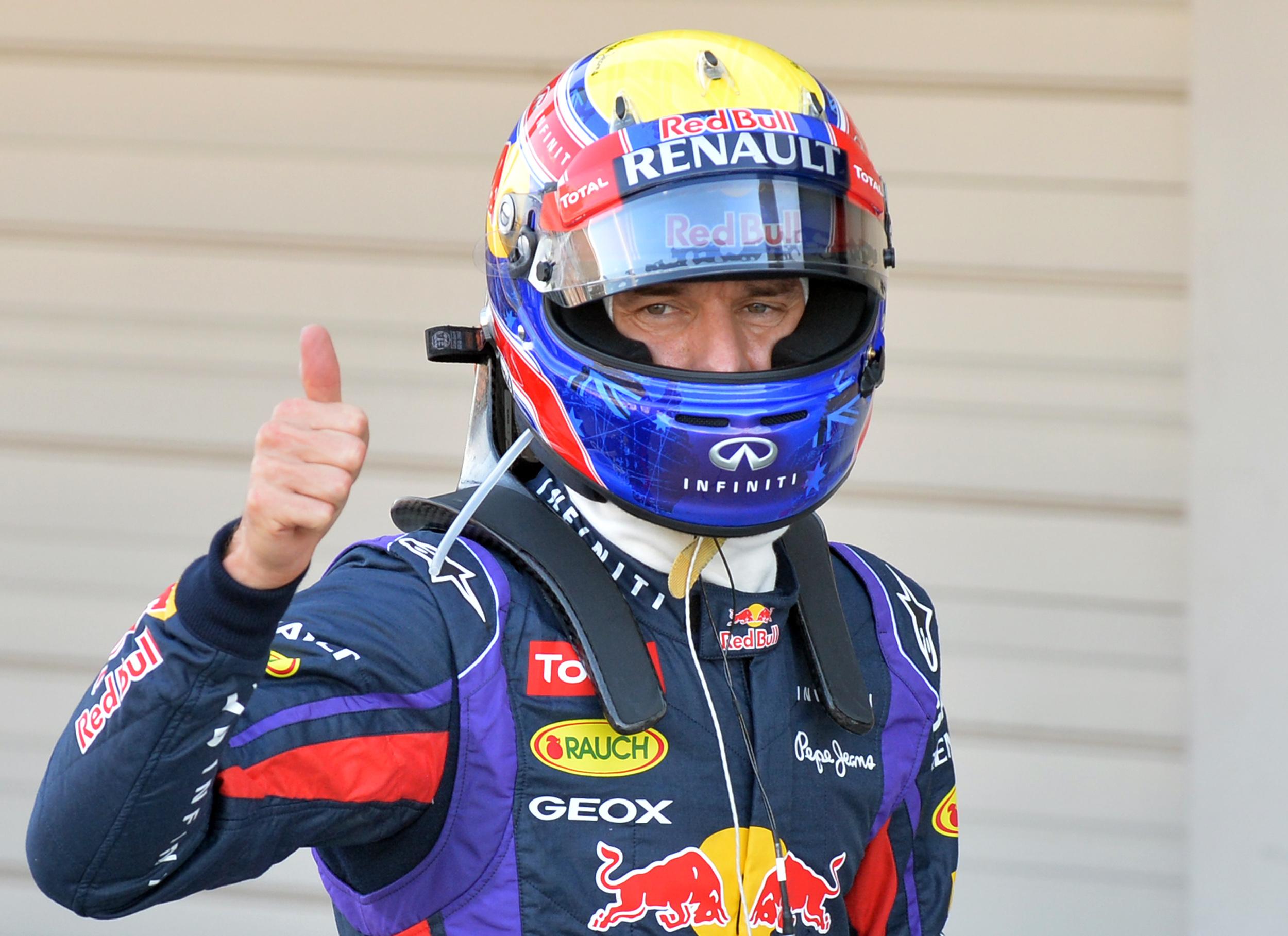 Mark Webber delighted at beating Sebastian Vettel to Japanese Grand Prix pole