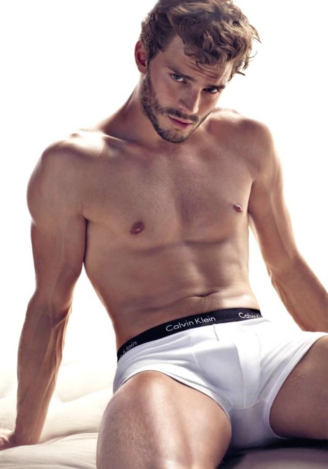 Jamie Dornan has been cast as Christian Grey (Picture: Calvin Klein)