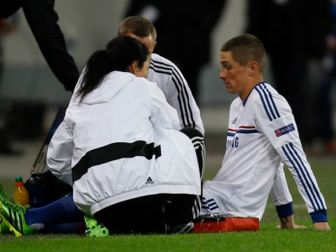 Chelsea sweat as Fernando Torres awaits scan on damaged knee ligaments