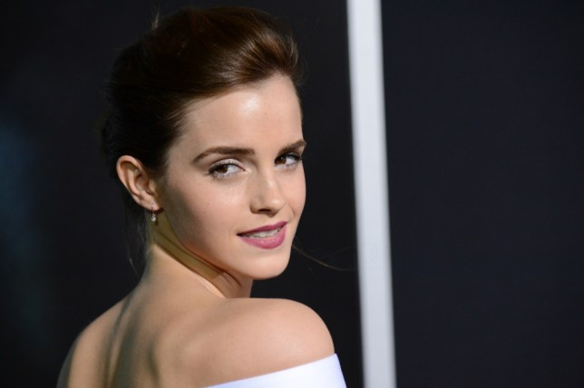 """Actress Emma Watson attends the premiere of """"Gravity"""" at the AMC Lincoln Square Theaters on Tuesday, Oct. 1, 2013, in New York. (Photo by Evan Agostini/Invision/AP)"""