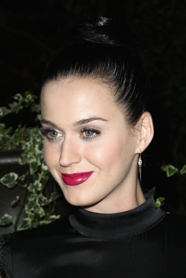 PARIS, FRANCE - OCTOBER 01:  Katy Perry attends the 'Mademoiselle C' cocktail party at Pavillon Ledoyen on October 1, 2013 in Paris, France.  (Photo by Julien M. Hekimian/Getty Images)