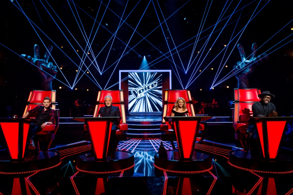 First look at Kylie Minogue and Ricky Wilson as coaches on The Voice UK