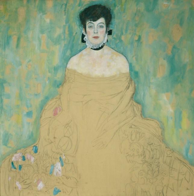 Portrait of Amalie Zuckerkandl, 1917-18 (Picture: Belvedere, Vienna)