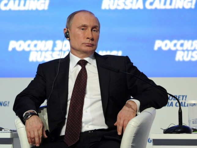 Vladimir Putin nominated for Nobel Peace Prize for efforts to 'maintain peace and tranquility'