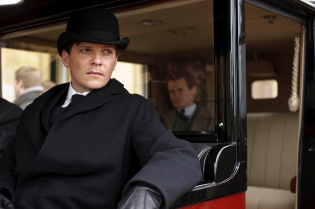 Downton Abbey S4nnThe fourth series, set in 1922, sees the return of our much loved characters in the sumptuous setting of Downton Abbey. As they face new challenges, the Crawley family and the servants who work for them remain inseparably interlinked.nnNIGEL HARMAN as Green and CHARLES EDWARDS as Gregson
