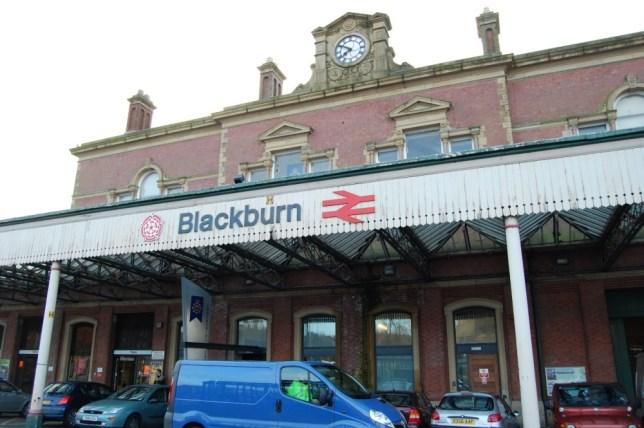 The man fell asleep on the tracks near Blackburn train station in Lancashire (Picture: Getty)