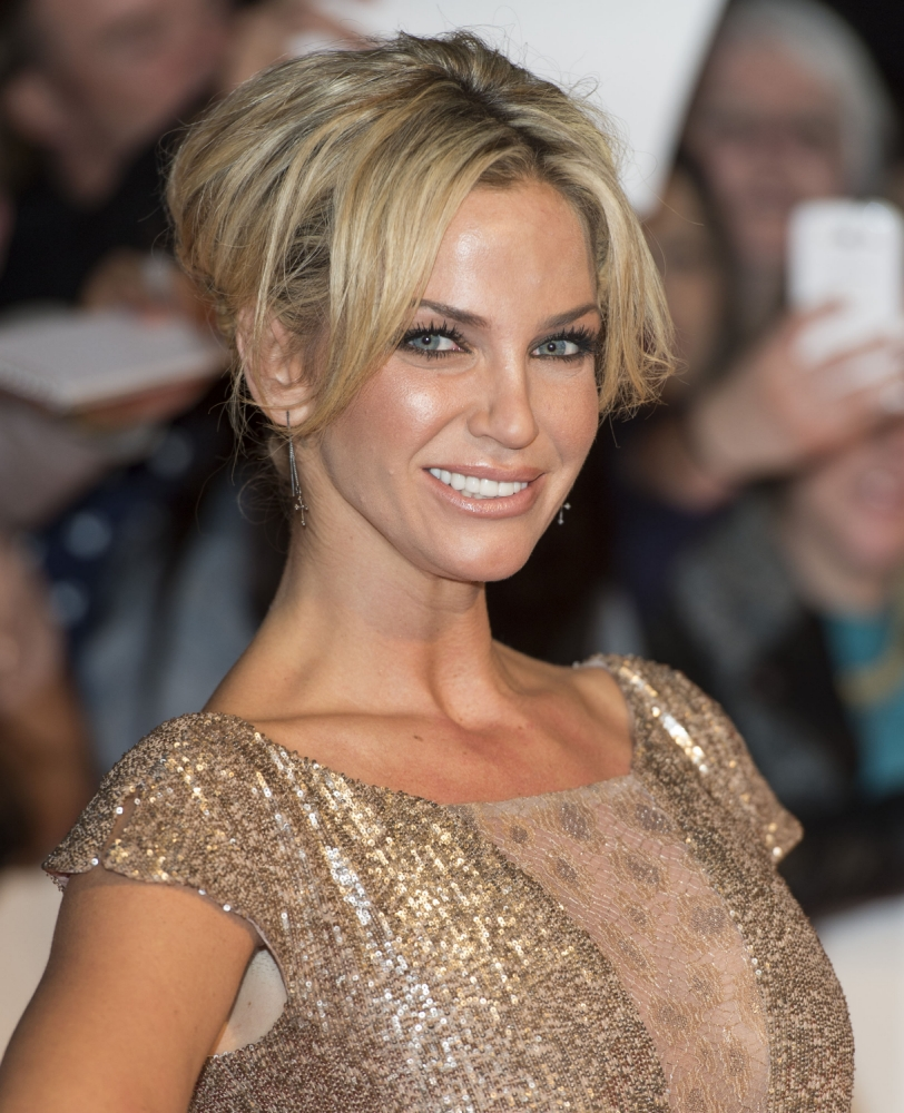 LONDON, ENGLAND - OCTOBER 07:  Sarah Harding attends the Pride of Britain awards at Grosvenor House, on October 7, 2013 in London, England.  (Photo by Mark Cuthbert/UK Press via Getty Images)