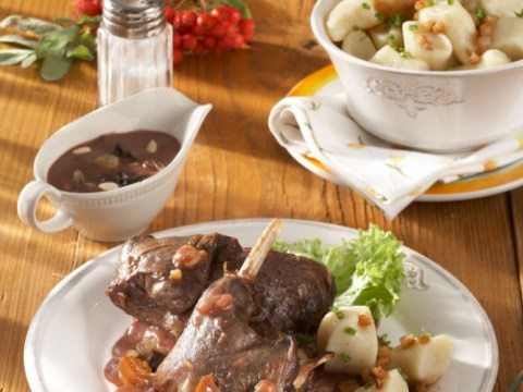 Hot trend: Rabbit and pheasant are fast replacing beef and chicken for the casserole pot