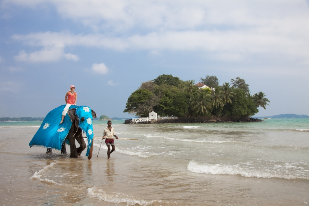Taprombane Island, Sri Lanka (Picture: Supplied)
