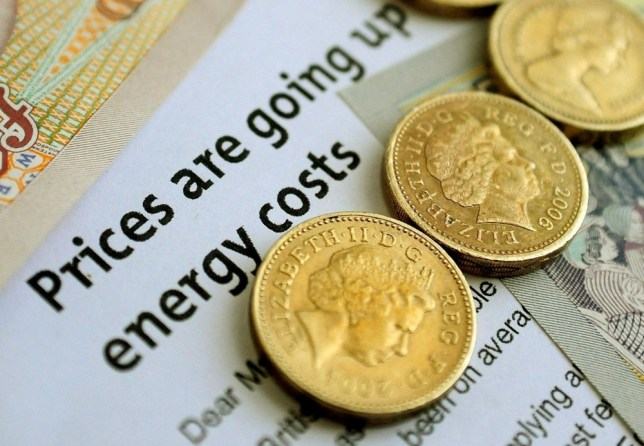 """File photo dated 22/04/12 of money with energy bills as households have been urged to """"fight back"""" as they face the almost certain prospect of industry-wide energy price hikes. PRESS ASSOCIATION Photo. Issue date: Thursday October 10, 2013. SSE's announcement of an 8.2% increase is widely expected to be followed by its competitors, while watchdogs and charities fear that consumers confused by a complicated market believe they have little choice but to ration their heating. Since the start of the century, the price paid by households for gas has more than doubled, while the cost of electricity has increased by 70%. See PA story CITY Consumers. Photo credit should read: Rui Vieira/PA Wire"""