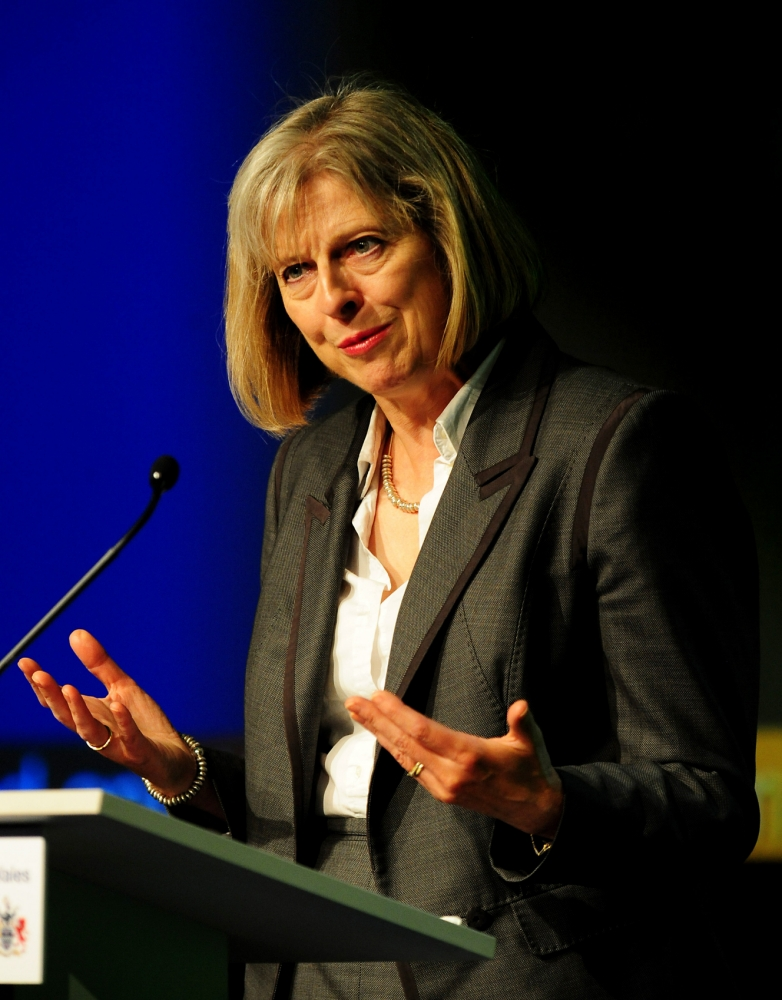Theresa May: The modern-day slavery taking place on London's streets