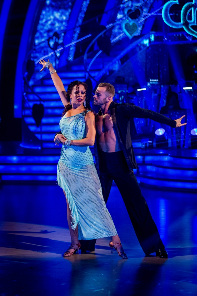 Strictly Come Dancing 2013: Natalie Gumede's rumba rockets her to the top of the scoreboard