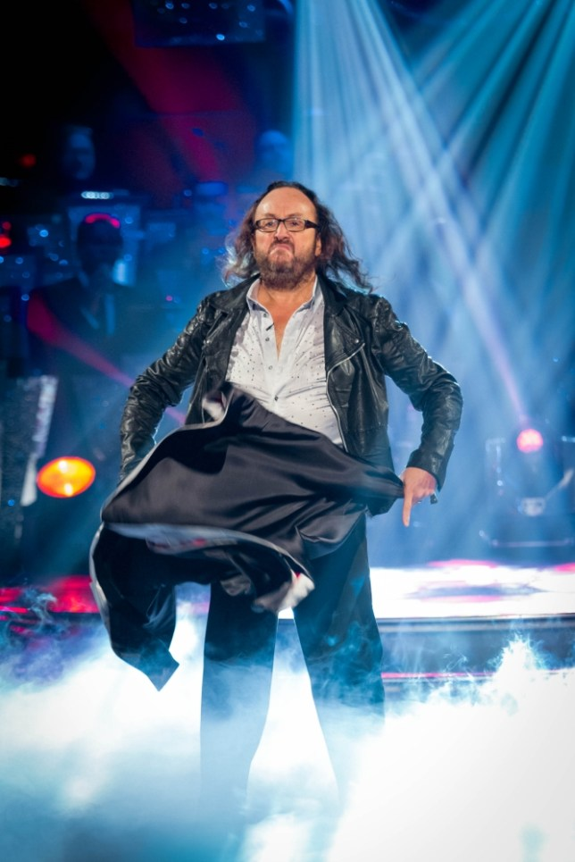 Dave Myers on Strictly Come Dancing
