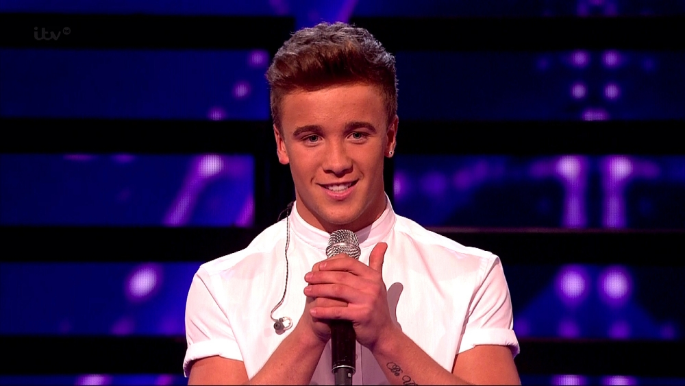 The X Factor's Sam Callahan