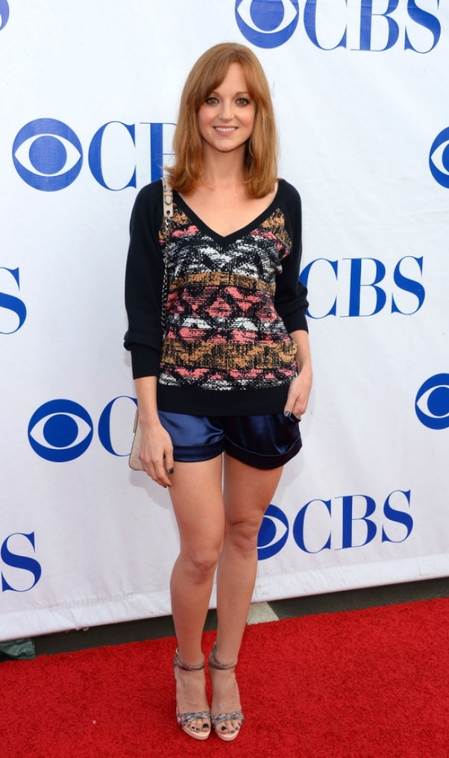 Actress Jayma Mays is leaving Glee and stars in The Millers (Picture: Mark Davis/Getty Images)