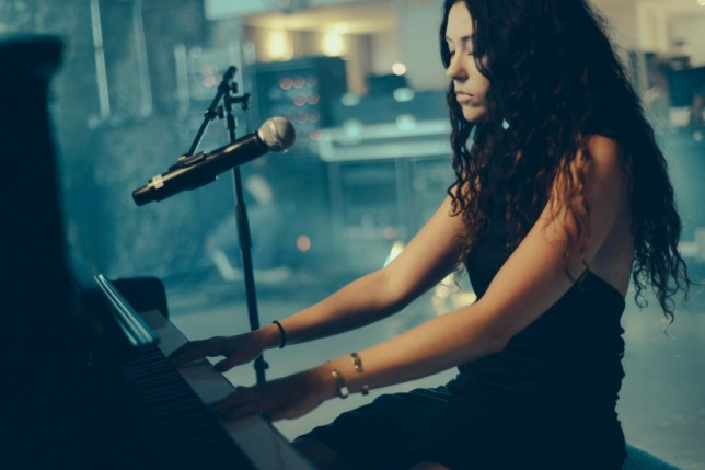 Eliza Doolittle showcases her piano skills (Picture: supplied)