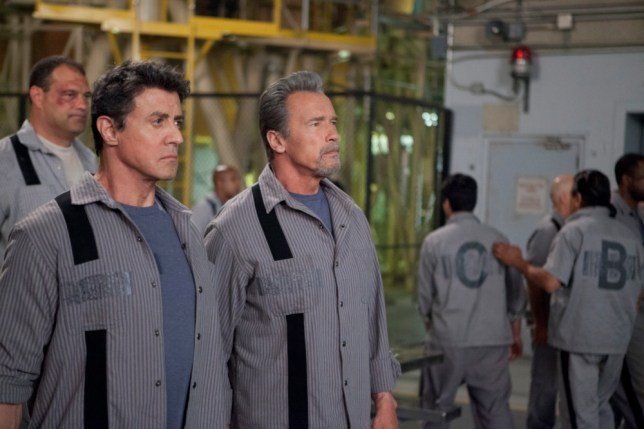 Stallone! Arnie! Action Movie! Escape Plan! (Picture: Summit Entertainment)