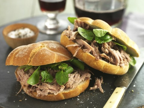 How to make Confit Duck Sandwich