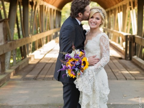 Here comes the bride: Kelly Clarkson and Brandon Blackstock marry in Tennessee