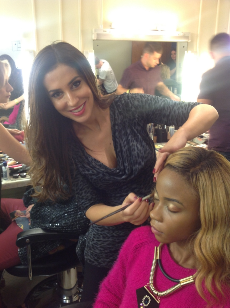 What's really involved in getting The X Factor hopefuls live show-ready?: Behind-the-scenes with chief make-up artist Julia Carta