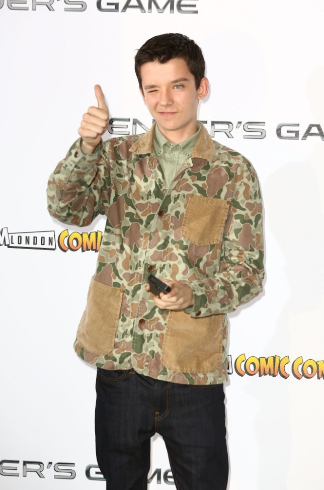 "LONDON, ENGLAND - OCTOBER 07:  Asa Butterfield attends a photocall to promote ""Ender's Game"" at Odeon Leicester Square on October 7, 2013 in London, England.  (Photo by Tim P. Whitby/Getty Images)"