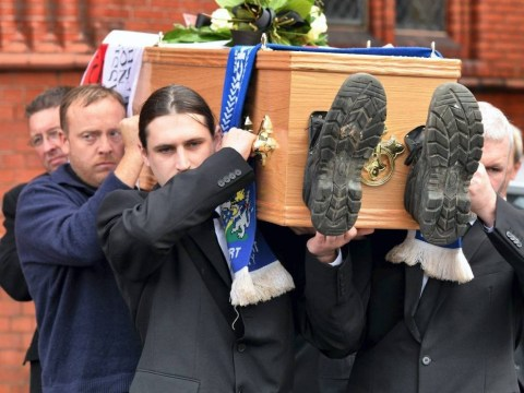 Stockport County fans raise £3,000 to give 'joker' a fitting farewell
