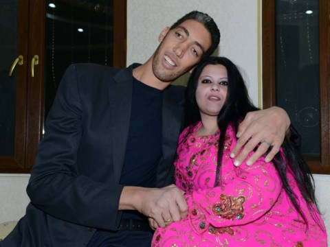 A nice day for a height wedding as world's tallest man gets married