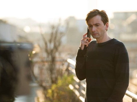David Tennant gives his character just enough empathy to be believeable in The Escape Artist