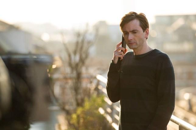 David Tennant is Will Burton in The Escape Artist (Picture: Steffan Hill)