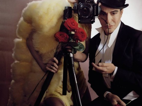 Back in the fashion fold – Kate Moss poses with John Galliano on the cover of Vogue