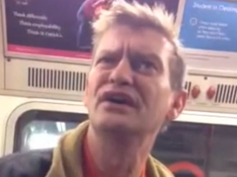 Video: Ex-soldier in 'racist' London Underground rant caught on camera