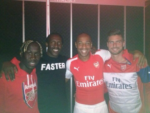 Arsenal's new Puma kit 'leaked on Twitter' by sprint king Linford Christie