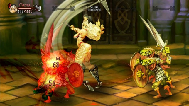 Dragon's Crown (PS3) – those are some very odd proportions