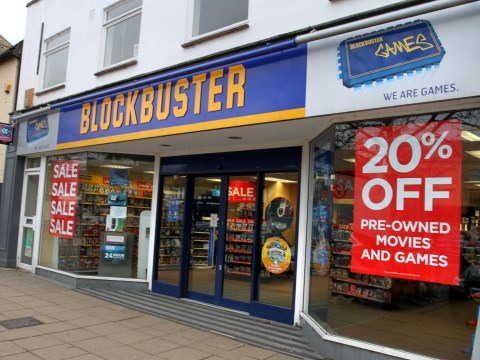 Blockbuster is back in administration