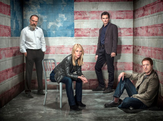 Homeland is getting a dramatic change of location for season 4 (Picture: Showtime)