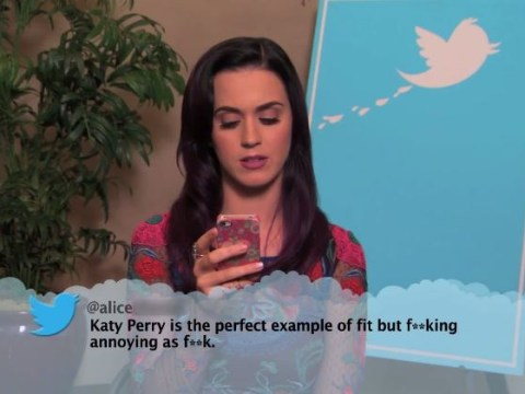 Katy Perry, Pharrell, 2 Chainz and more read mean Tweets about themselves