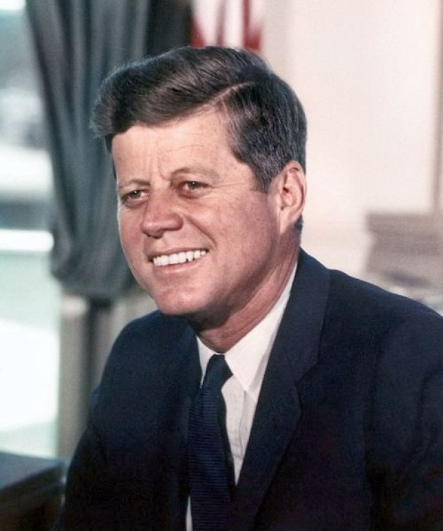 John F. Kennedy, brain