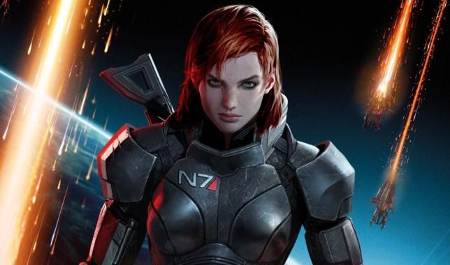Female Shepard is best Shepard