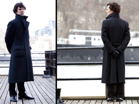 Sherlock: The precaution of a good coat (and a short friend)