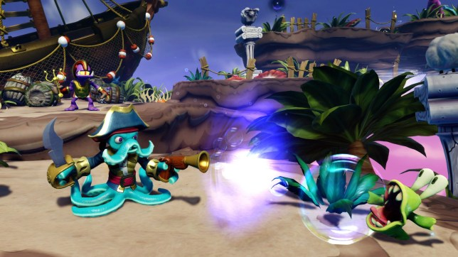 Skylanders Swap Force (360) -  Wash Buckler's head or tentacles can be swapped with any other toy