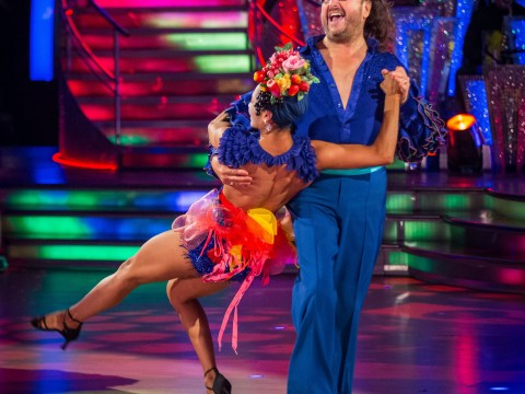 Calm down everybody, there is no need for Dave Myers to quit Strictly Come Dancing