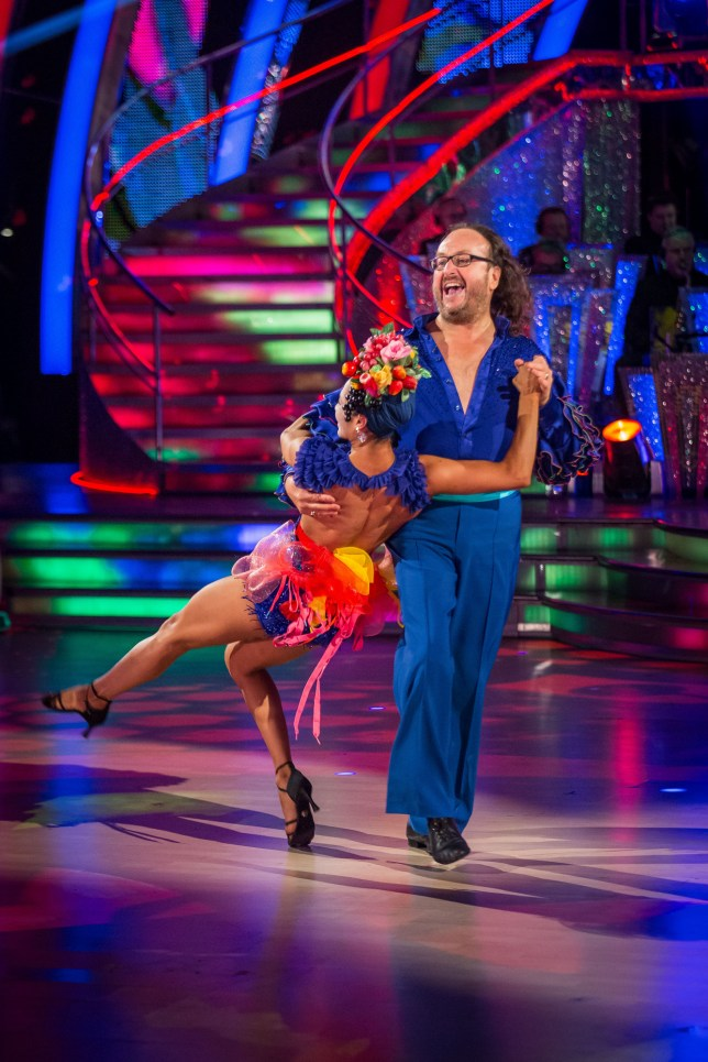 Dave Myers Strictly Come Dancing