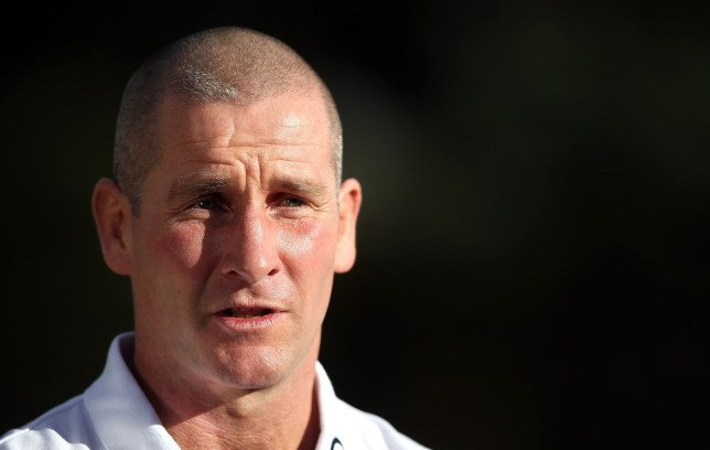 BAGSHOT, ENGLAND - NOVEMBER 04:  Stuart Lancaster, the England head coach talks to the media during the England media session held at Pennyhill Park on November 4, 2013 in Bagshot, England. Getty Images