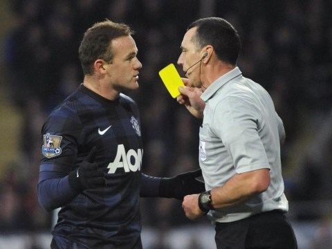 Did referee Neil Swarbrick bottle sending dirty Wayne Rooney off against Cardiff?