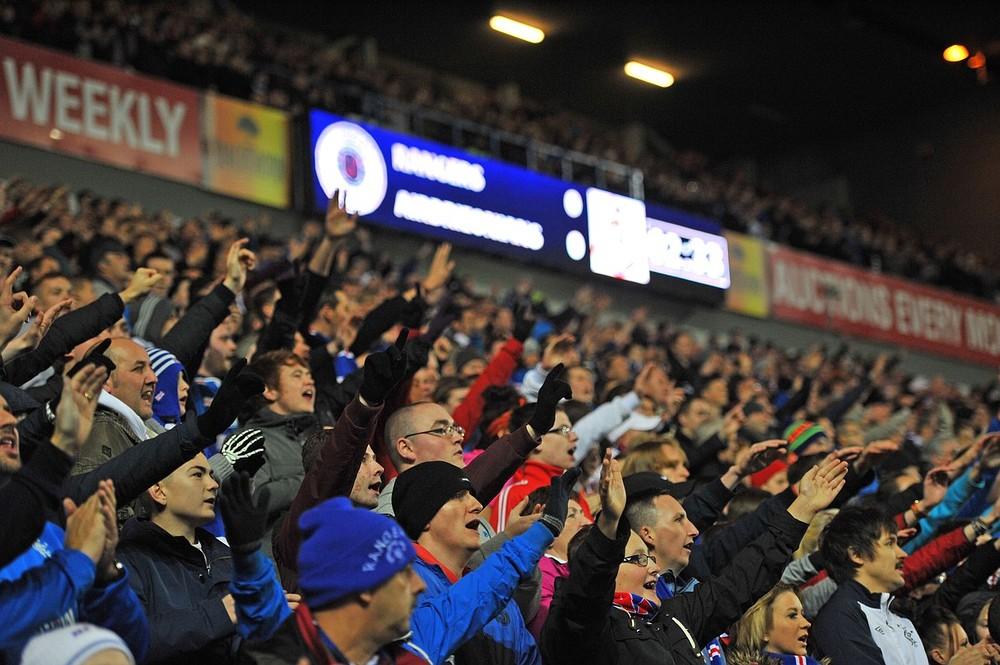 Keep fighting Fernando Ricksen, all Glasgow Rangers fans are behind you