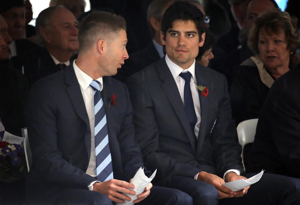 Michael Clarke 'reveals' Alastair Cook's England XI for first Ashes Test in Brisbane
