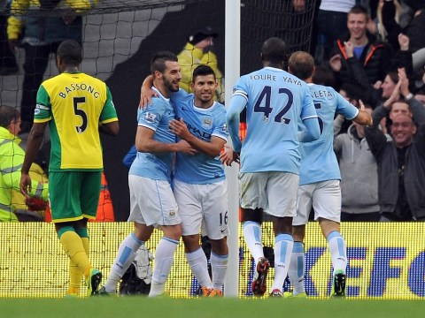 Manchester City smash seven past sorry Norwich City on a dramatic day in the Premier League